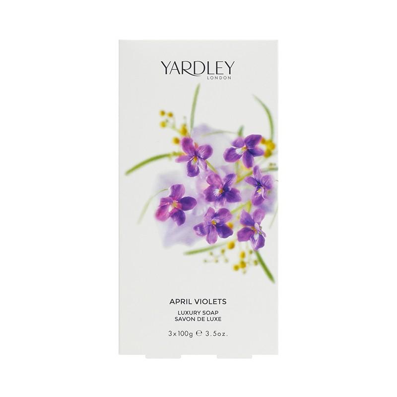四月紫羅蘭香皂 April Violets Soap 3*100g